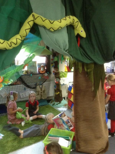 Undy School Y1 Reading Jungle