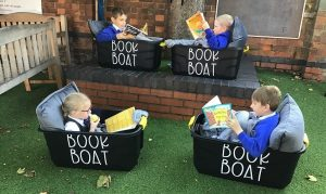 book boat - St Andrews CE Primary Kettering